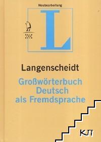 Langenscheidt Großwörterbuch Deutsch als Fremdspache