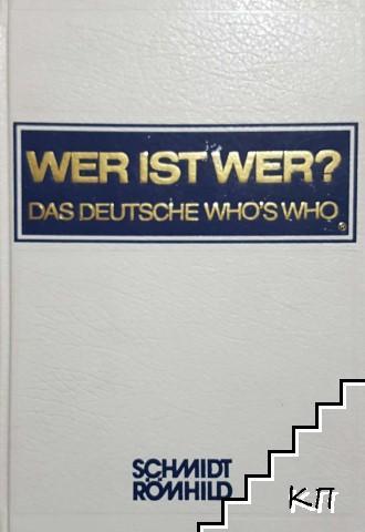 Wer ist Wer? Das Deutsche Who's Who XXII