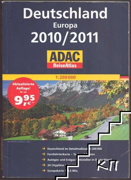 Deutschland Europa 2010/2011 Reiseatlas