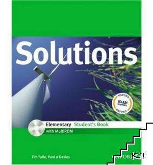 Solutions. Elementary Student's Book. With mulitRom