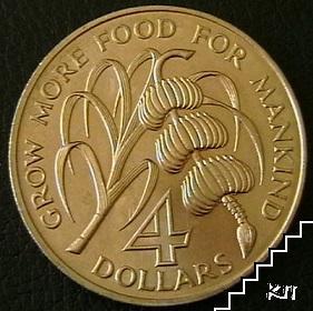4 долара / 1970 / Антигуа