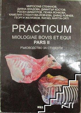 Practicum Miologiae Bovis et Equi. Pars 2