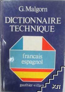 Dictionnaire technique. Français-espagñol
