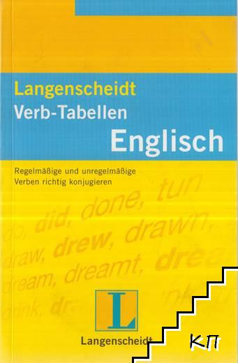Langenscheidts. Verb-Tabellen: Englisch