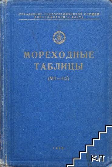 Мореходные таблицы (МТ-63)