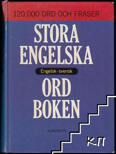 Stora Engelska Ordboken: Engelsk-svensk / A Comprehensive English-Swedish Dictionary