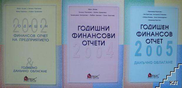 Годишен финансов отчет на предприятието 2002 / Годишни финансови отчети 2004 / Годишен финансов отчет 2005