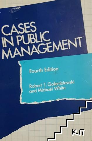 Cases in Public Management