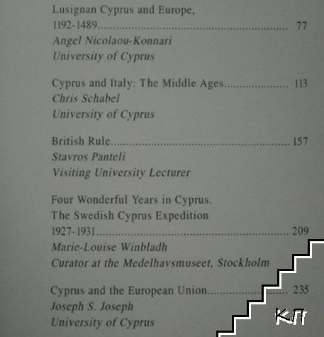 Cyprus Has Always Been Europe