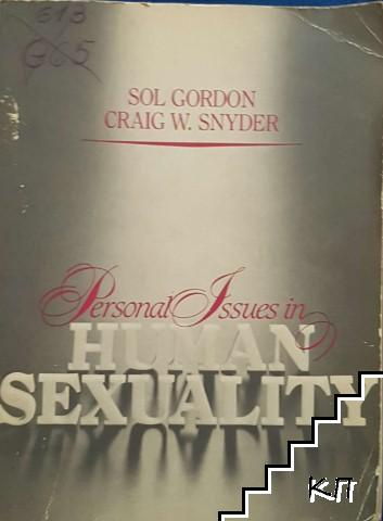 Personal issues in human sexuality