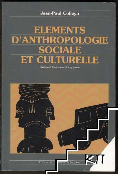 Eléments d'anthropologie sociale et culturelle