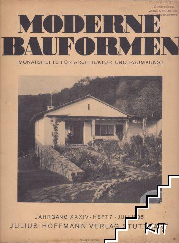 Moderne Bauformen. Heft 7/ juli 1935