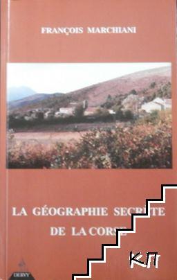 La géographie secrète de la Corse