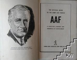 The official guide to the army air forces of a directory, almanac and chronicle of achievement
