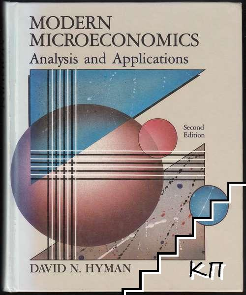 Modern Microeconomics: Analysis and Applications