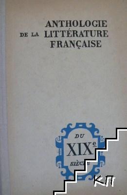 Anthologie de la littérature française du XIXe siècle