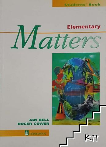 Matters: Elementary. Students' book