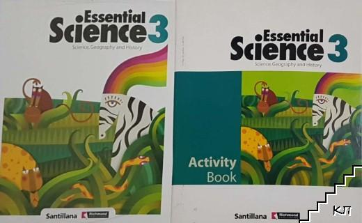 Essential Science. Activity Book 3. Student's book