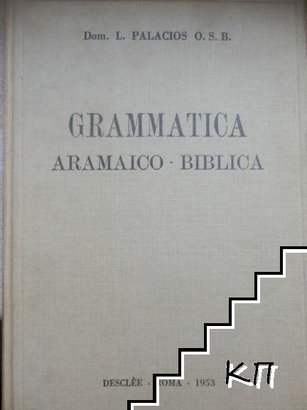 Grammatica Aramaico-Biblica
