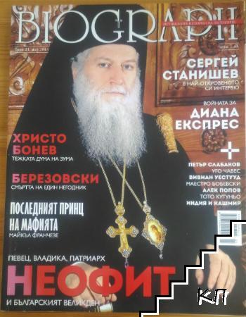Biograph. Бр. 21 / май 2013