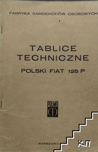 Tablice Techniczne. Polski Fiat 125P