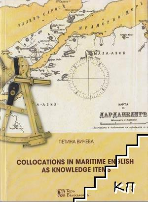 Collocations in Maritime English as Knowledge Items