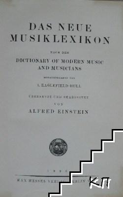 Das neue musiklexikon