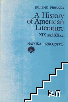 A History of American Literature XIX and XX cc.