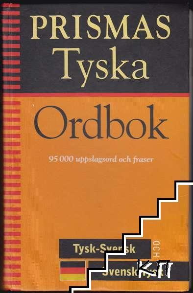 Prismas Tyska Ordbok: Tysk-Svensk, Svensk-Tysk ock Grammatik