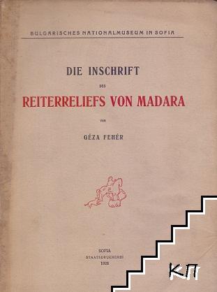Die Inschrift des Reiterreliefs von Madara