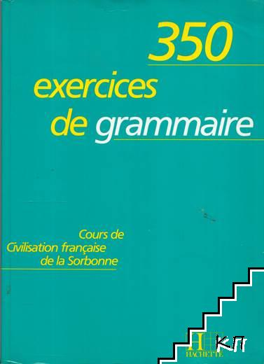 350 Exercices De Grammaire