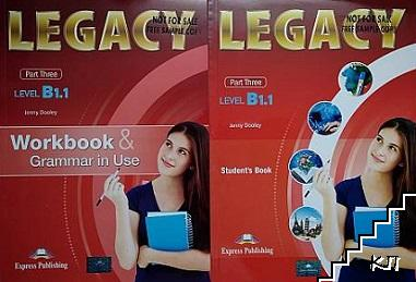 Legacy B1.1. Part 3. Student's book + Workbook & Grammar in Use