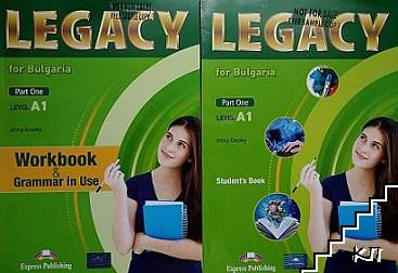 Legacy A1 for Bulgaria. Part 1. Student's book + Workbook & Grammar in Use