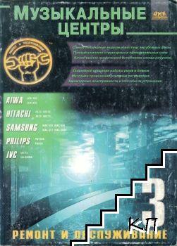 Музыкальные центры. Ремонт и обслуживание. Вып. 3: Aiwa. Hitachi. Samsung. Philips. JVC