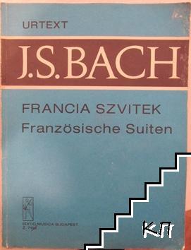 Francia szvitek: BWV 812-817
