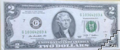2 долара / 2009 / САЩ