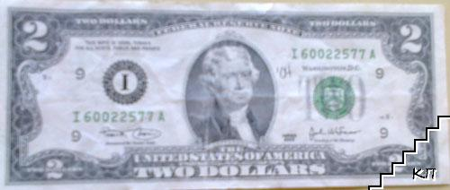 2 долара / 2003 / САЩ