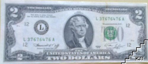 2 долара / САЩ
