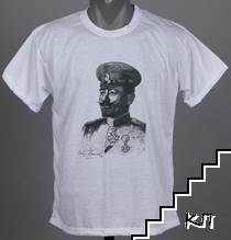 Тениски с портрета на ген. Иван Колев - бащата на българската конница