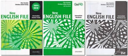 New English File. Intermediate: Student's Book / New English File. Intermediate: Workbook / New English File. Intermediate: Workbook Key