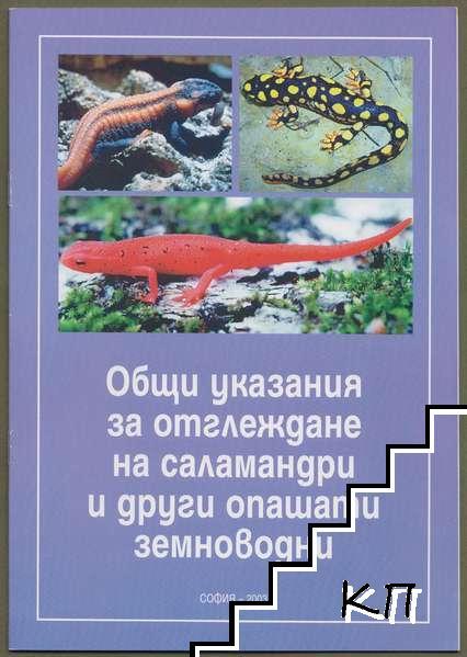 Общи указания за отглеждане на саламандри и други опашати земноводни