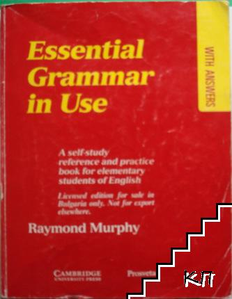 Essential Grammar in Use. With Answers