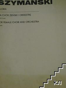Gloria, for female choir and orchestra