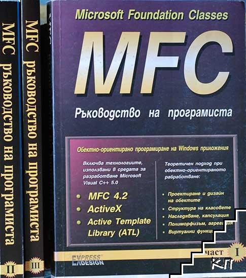 MFC. Ръководство на програмиста. Част 1-3