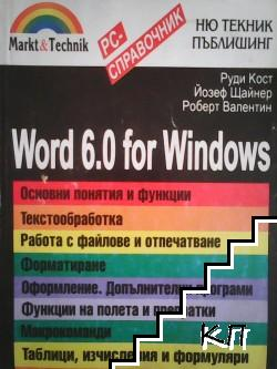 Word 6.0 for Windows