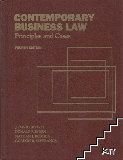 Contemporary business law: Principles and Cases