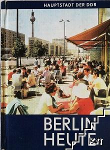 Berlin haute. Haupstadt der DDR