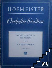Orchesterstudien für Violine. Heft 1