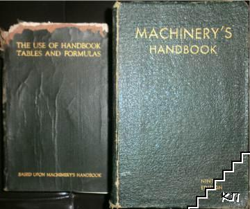 Machinery's handbook / The use of handbook Tables and formulas