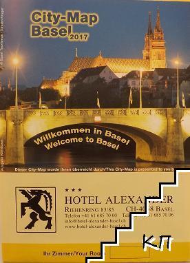 City-map Basel 2017